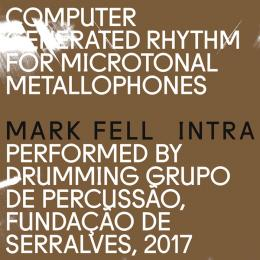 Mark Fell Performed By Drumming Grupo De Percussao : Intra [LP]