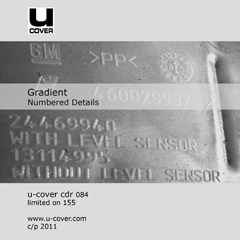 Gradient : Numbered Details [CD-R]